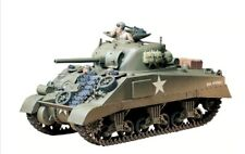 35190 Tamiya U.S. M4 Sherman (Ear.Production) 1/35th Plastic Kit Military Tank