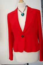 NassC Maki Saddlestitch Red Jacket 12 BNWT Excellent Quality WAS £135 (EE1)