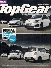 Renault Twingo Clio Megane RenaultSport Road Tests 2010 UK Market Brochure
