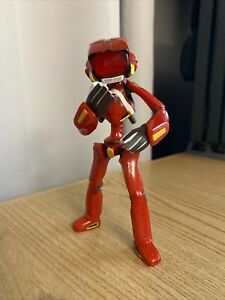 Canti Figure - FLCL Fooly Cooly - Kaiyodo - Used Red Kanti