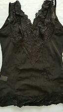 Magic Curves Shape wear lace shaping camisole  color black Medium  new in a box