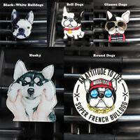Bulldogge Hunde Form Lufterfrischer Duft Auto Air Vent Parfüm Clip DE