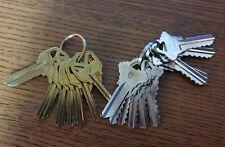 Kwikset KW1 and Schlage SC1 Depth Keys Code Keys