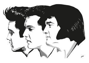 Elvis Presley - Memories - Original (signed) art print - Jarod Art
