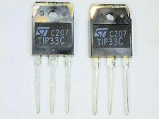 "TIP33C ""Original"" ST Transistor 2  pcs"