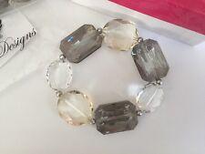"Premier Designs ""Swanky"" Necklace & Bracelet Set New In Packages"
