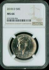 2018 D Kennedy Half Dollar NGC MS 66 *S