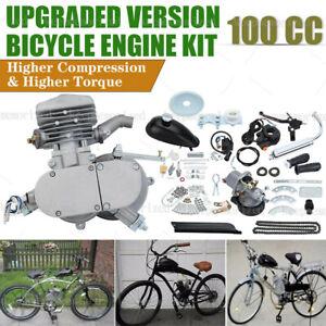Motorised Bicycle Push Bike 2 Stroke Motor Engine Kit Petrol Speedometer 100cc