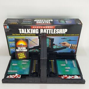 Electronic Talking Battleship Board Game 1989 Milton Bradley Complete Working