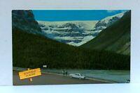 Jasper-Banff Highway Canada Stutfield Glacier Columbia Icefield Postcard