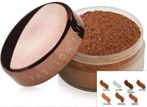 NEW Fashion Fair Oil-Control Loose Powder,  Pure Brown, Sugar
