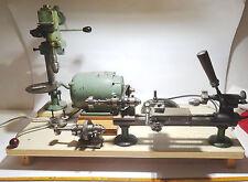 Uhrmacherwerkzeug Drehbank, Drehstuhl, Drehmaschine Boley, watchmaker Lathe,8mm