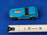 Vintage Hot Wheels Dark Blue HIWAY ROBBER Redline 1969 Mattel Hong Kong