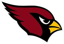 """Arizona Cardinals NFL Sticker Decal indoor - outdoor - car-  truck - 3.5""""x5.5"""""""