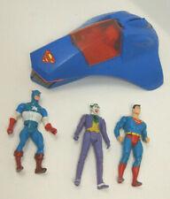 Vintage 1984 Kenner Super Powers Superman Supermobile & Superman Action Figures