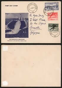 Norway 1951 - FDC Cover Olympics H797