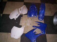 03 Yamaha YZ450F YZF Plastic Side Shroud Body Kit Number Plates Fenders   11/21r