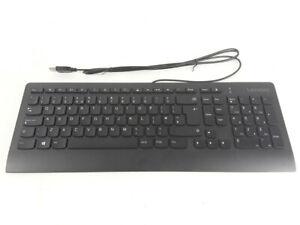 Lenovo PPQ-SK-8821 Keyboard Slim USB kabelgebunden QWERTY schwarz neu