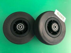 "6""x2"" Front & Rear Caster Wheel for Quantum Q6 Edge 2.0 & Q6 Edge 2.0 X #G289"