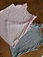 2 Tops Shirts Primark Gr. 34/36 rosa und grau