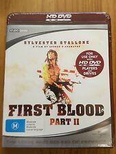 First Blood Part 2 Australian import HD Dvd Sealed