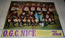 MIROIR FOOTBALL N°336 1979 POSTER OGC NICE NISSA OGCN CSSR DUMAT C1 ITALIE