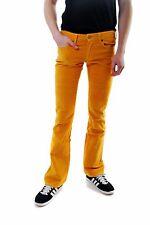 Lois jeans para hombre de Superdry Beverly Terciopelo Amarillo Tamaño W30 L34 RRP £ 85 BCF610