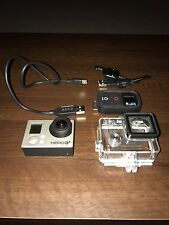 gopro hero 3 black edition 1080p Action Camera Used With Waterproof Case Bundle