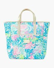 NWT Lilly Pulitzer Convertible Backpack Tote Bag Fished My Wish Print MSRP $148