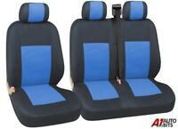 FOR VAUXHALL VIVARO MOVANO VAN 2+1 BLUE SOFT & COMFORT FABRIC SEAT COVERS