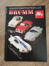 Catalog Brumm 1981 Modeling 1:43 Modeling Model Prospekt Brochure Car Slot