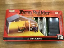 Britains Farm Building Set 4708 plus Britians Cows & Farmer