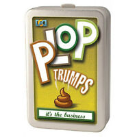 Plop Trumps Top Animal Poo Card Game Novelty Gift Kids/Adult Fun Birthday Gift