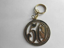 Vintage Humane Society of the United States 50th Anniversary Keychain