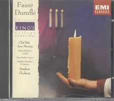 Durufle: Requiem Op. 9 / Fauré: Requiem, Op. 48 CD A56