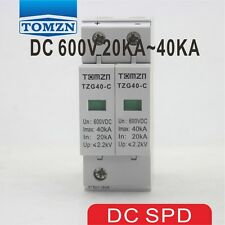 SPD DC 600V 20KA~40KA House Surge  Protective Low-voltage Arrester Device