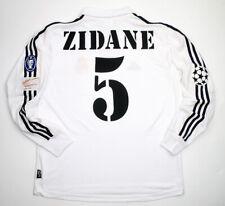 Real Madrid final Champions League 2002 centenary shirt FIGO ZIDANE RAUL etc