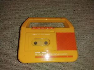 Vintage Radio Shack Realistic CTR-79 Cassette Tape Recorder Microphone Tested