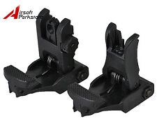 Tactical Flip-Up BackUp Front and Rear Sight Set for 20mm Rail Hunting