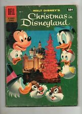 Christmas in Disneyland #1 CARL BARKS ART 1957 DELL GIANT! Nice Fn+ 6.5! 40% OFF