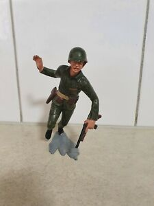 14cm  U.S MARINES   LOUIS MARX & CO. INC.1963 HONG KONG