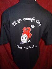1997 Knott's Halloween Haunt GHOST TOWN STREETS ZOMBIE TRIBE Shirt XL Scary Farm