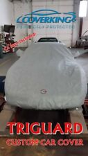 Chevy Corvette C4 Coverking Triguard Custom Fit Car Cover with C4 Flags Logo