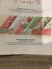 Stampin Up DSP (designer series paper) Nordic Noel