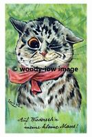 rp02792 - Louis Wain Cat - print 6x4