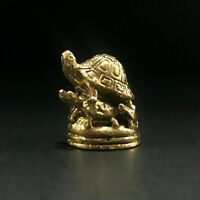 Miniature Sea Small Turtle Tortoise Figurines Statue Metal longevity Feng shui