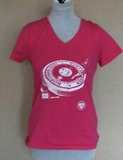northern soul  pink t shirt   size m v neck  fruit  of loom