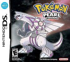 Pokemon Pearl Version (Nintendo DS) Lite DSi XL 3DS 2DS w/Case & Manual
