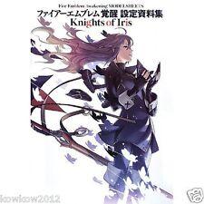 Fire Emblem Kakusei Awakening Model Sheets Knights of Iris 3DS Art Book obi New