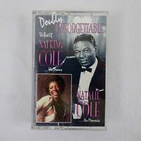 Nat King Cole & Natalie Cole Cassette Doubly Unforgettable